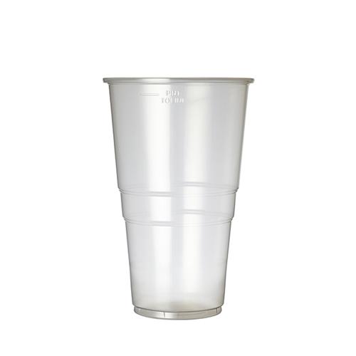 Plastico Flexy-Glass Polypropylene Pint Glass to Line 23oz LCE 20oz Clear
