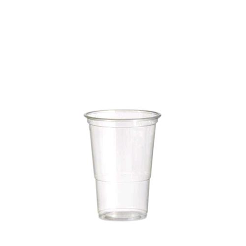 Alliance Polypropylene Flex Half Pint Glass to Brim 10oz CE Brim Clear