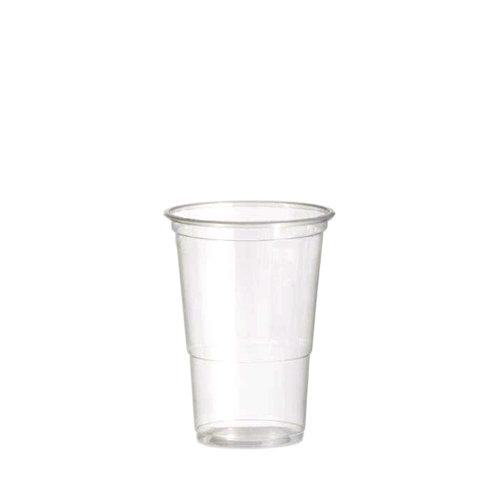 Alliance Polypropylene Flex Half Pint Glass to Line 12oz LCE @ 10oz Clear