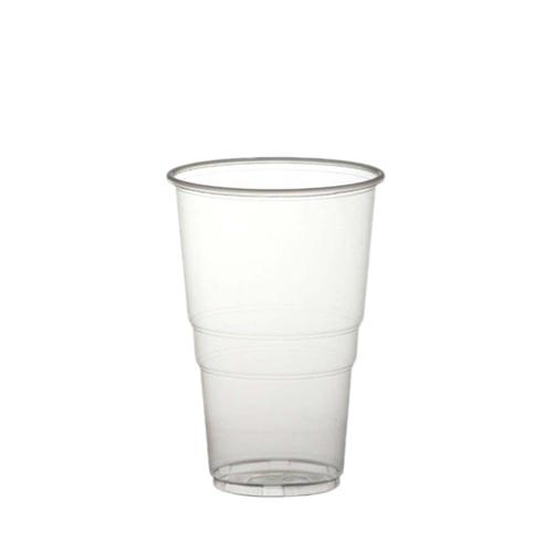 Alliance Polypropylene Flex Pint Glass to Brim 20oz CE Brim Clear