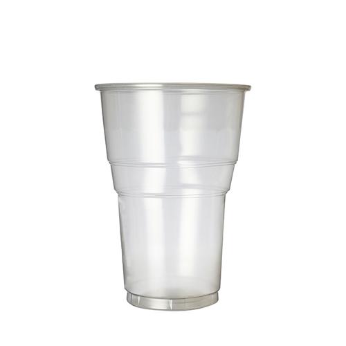 Plastico Oxo-Bio Flexy-Glass Pint to Line 23oz LCE 20oz Pint Line Clear