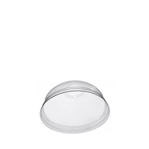 Pulsar Smoothie Domed Lid with Hole 95mm Clear