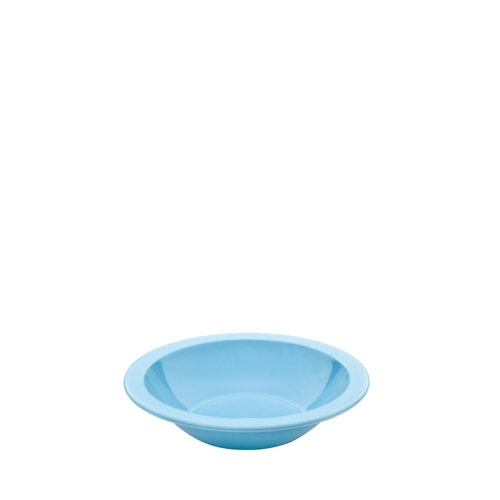 Harfield Polycarbonate Narrow Rimmed Bowl 17.3cm Summer Blue