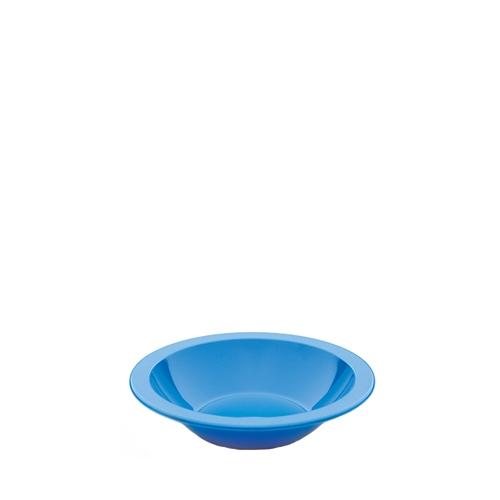Harfield Polycarbonate Narrow Rimmed Bowl 17.3cm Blue