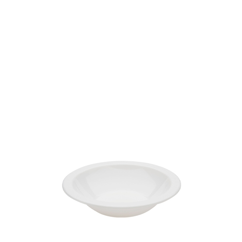 Harfield Polycarbonate Narrow Rimmed Bowl 17.3cm White