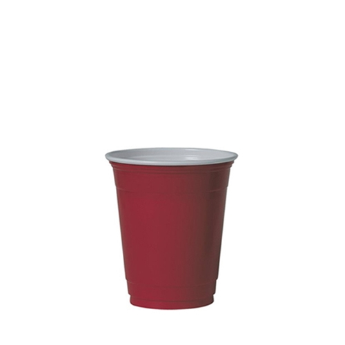 Solo Polystyrene Party Cup 12oz Red
