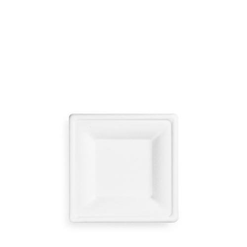 Vegware Square  Bagasse Plate 6