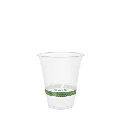 Vegware Standard PLA Cold Cup 12oz Clear