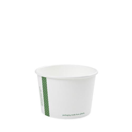 Vegware Compostable Soup Container 16oz White