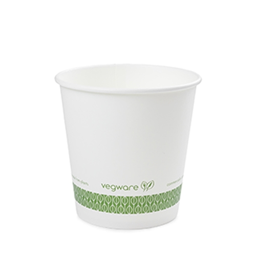 Vegware Compostable Soup Container 24oz White White 24oz