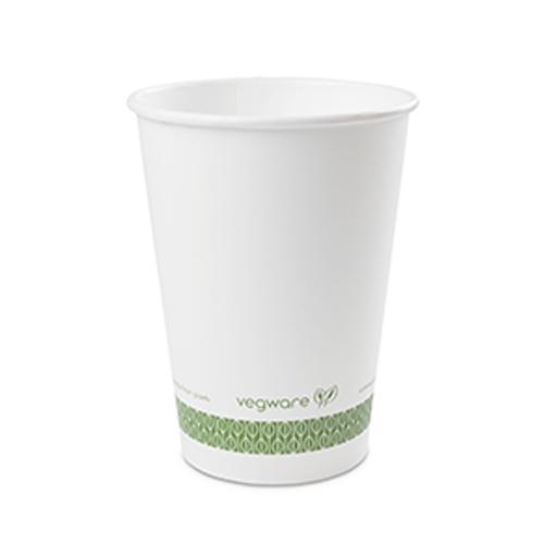 Vegware Compostable Soup Container 32oz White White 32oz