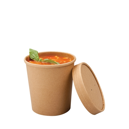 Colpac Souper  Food Container 16oz Kraft