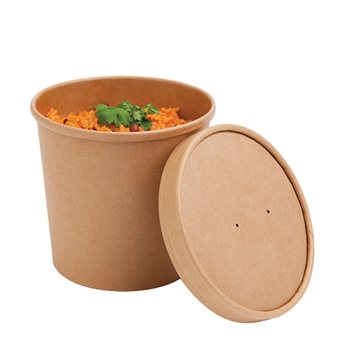 Colpac Souper  Food Container 26oz Kraft