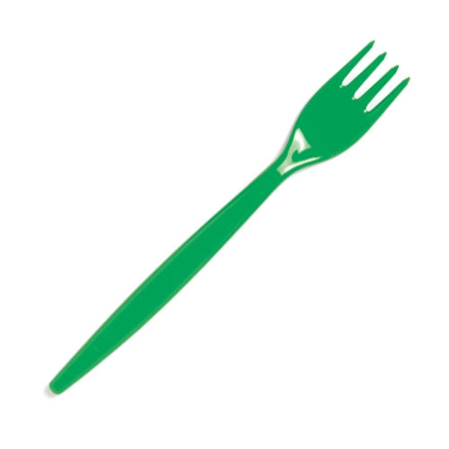 Harfield Polycarbonate Standard Fork 20cm Emerald Green