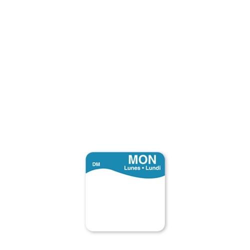 Dissolve-A-Way Label Monday 2.5cm