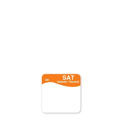 Dissolve-A-Way Label Saturday