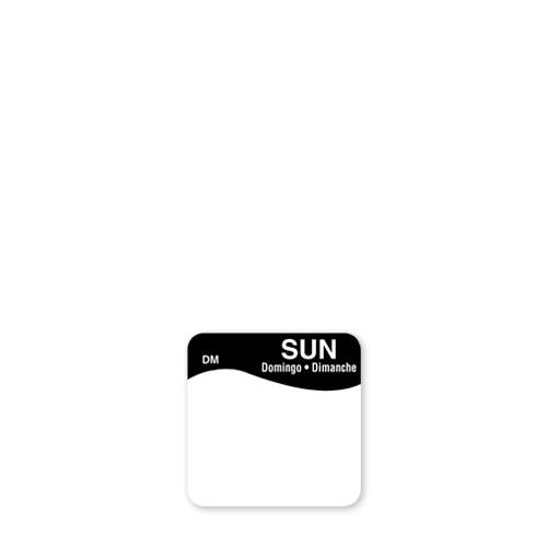 Dissolve-A-Way Label Sunday