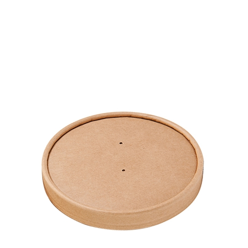 Colpac Souper Food Container Lid 8oz  Kraft