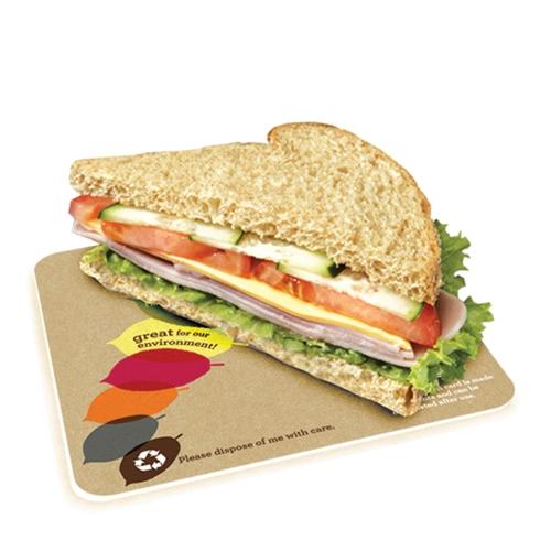 St Neots Packaging Seasons Eco Sandwich Card 130x130mm