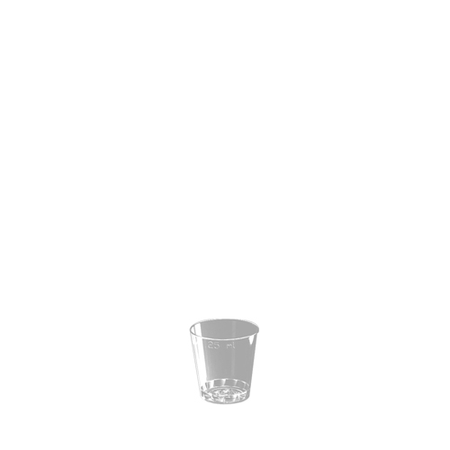 Disposable  Shot Glass 25ml CE Clear