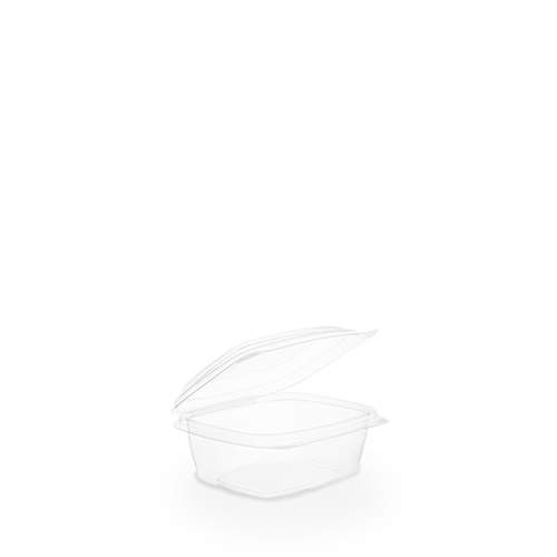 Hinged Lid PLA Deli Container 22.7cl Clear