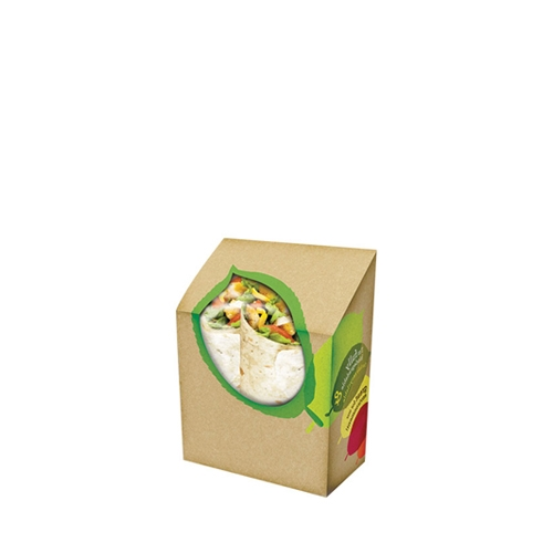 Seasons Eco Tortilla Box 9 x 5 x 13cm  Brown