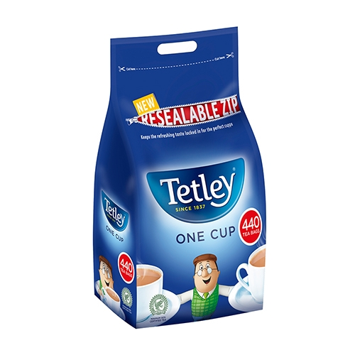 Tetley One Cup Tea Bags 1kg