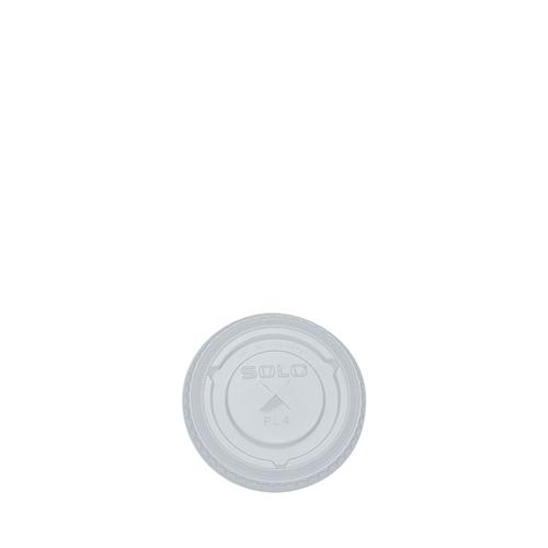 Solo Ultraclear PET Flat Lid 7oz Clear