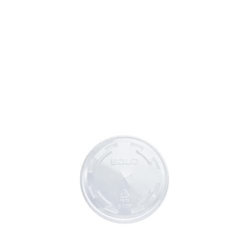 Solo Ultraclear PET Flat Lid 296ml Clear
