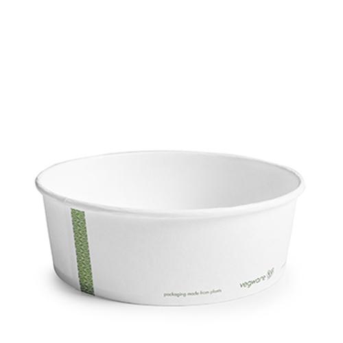 Vegware Bon Appetit Bowl PLA Lined 32oz White