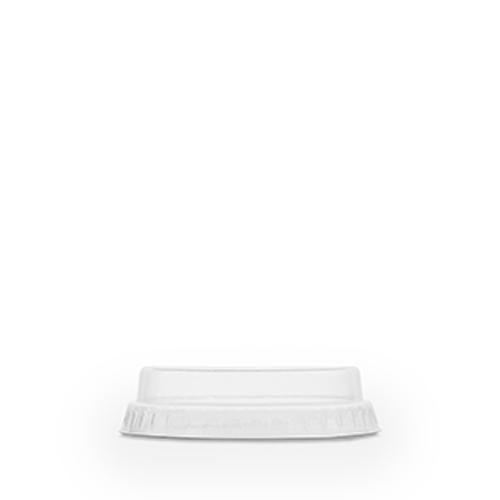 Vegware PLA Flat Lid No Hole (fits slim cup) 76mm