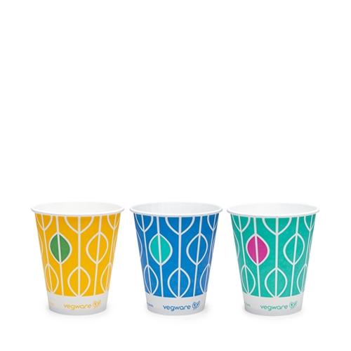 Vegware Hula PLA Lined Cup 16oz Multi