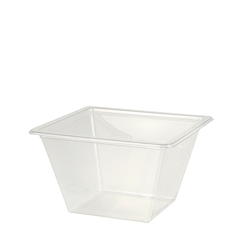 Vision Salad Container rPet 375ml Clear