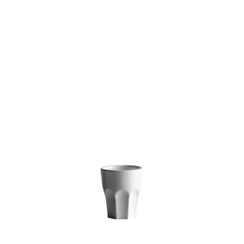 Polycarbonate  Shot Glass 50ml White