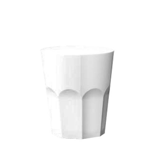 Elite Polycarbonate  Tumbler 9oz White