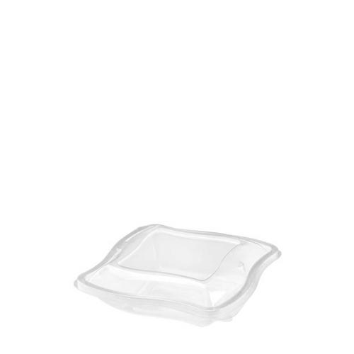 Wave  Hinged Salad Bowl 250ml Clear