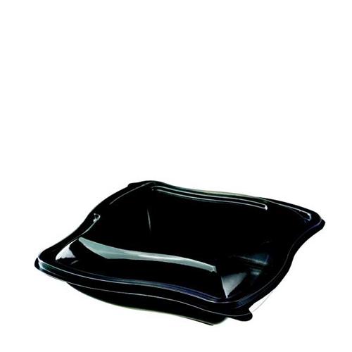 Wave  Salad Bowl 750ml Black