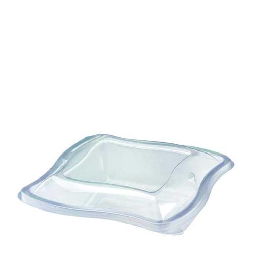 Wave  Salad Bowl Lid 750/1000ml  Clear