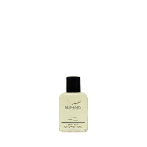 Elements Bath & Shower Gel 40ml Clear