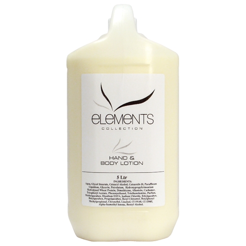 Elements Hand & Body Lotion 5 Ltr