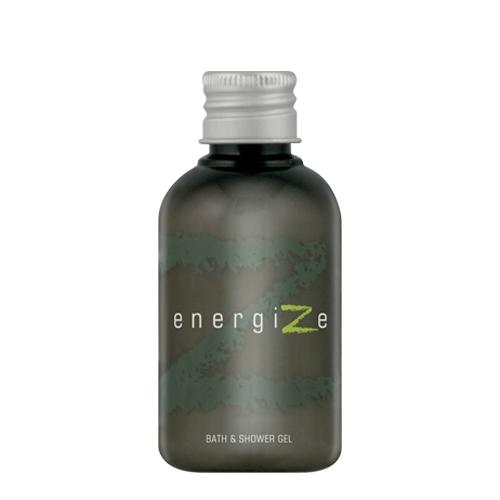 Energize Bath & Shower Gel 50ml Charcoal/Green