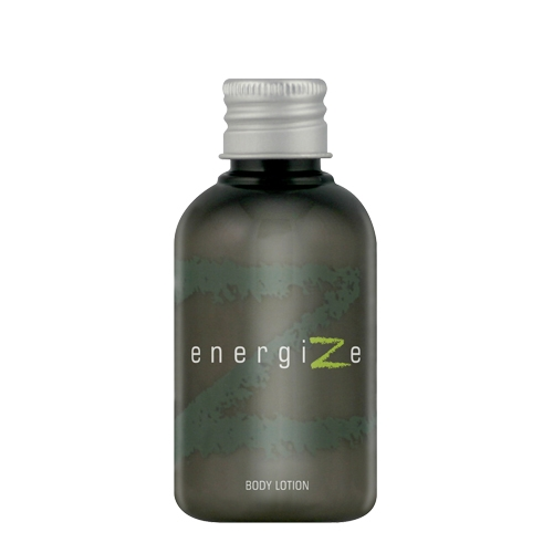 Energize Body Lotion 50ml  Charcoal/Green