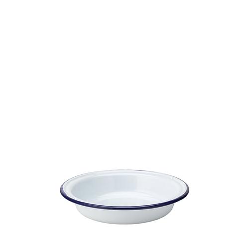 Utopia Enamelware Round Pie Dish 7.25