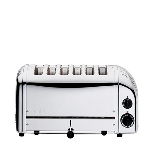 Dualit Classic 6 Slot Commercial Toaster Stainless Steel