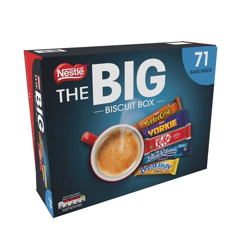 Nestle Big Biscuit Bar Box (contains 71 bars)