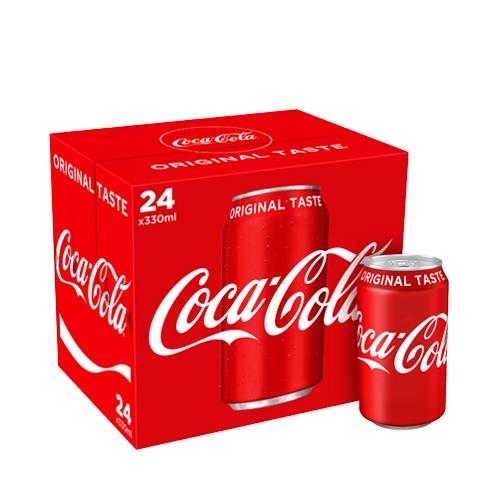 Coca-Cola Cans 330ml