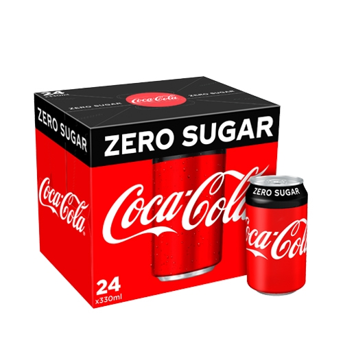 Coca-Cola Zero Sugar Cans 330ml