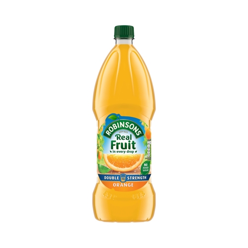 Robinsons Double Concentrate No Added Sugar Orange Cordial 1.75 Ltr