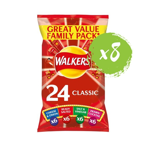 Walkers Classic Variety Multi Pack Crisps 25g
