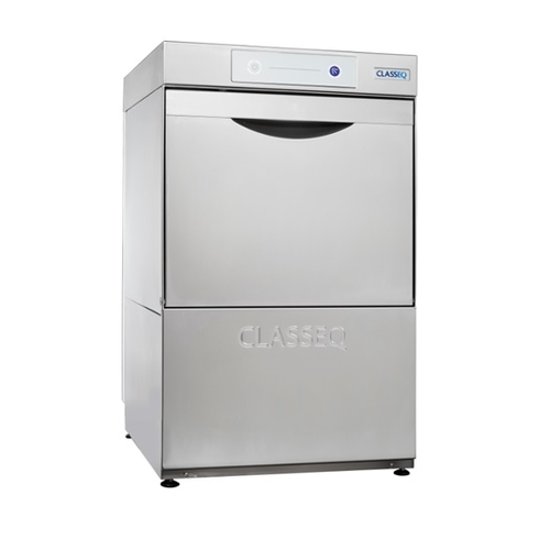 Classeq Pumped Drain Glasswasher G400 450mm (W) x 517mm (D) x 760mm (H) Stainless Steel